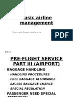 Basic Airline Management