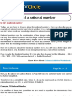 Is 3.14 a Rational Number