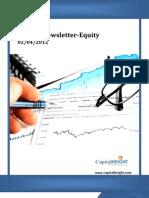 Weekly Stockcash Report 02-04-2012