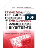 Practical RF Circuit Design for Modern Wireless Systems Volume 1