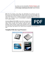 Per Banding An Intel Core I3 530 Dengan AMD Phenom II X6 1100T