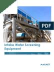 Macmet Intake Water Screening Eqipment