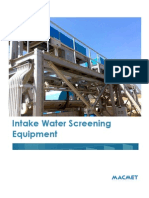Macmet Intake Water Screening Eqipment