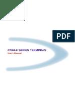 Datalogic F734RF Userguide