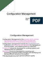 Configuration Management, Software Project Management