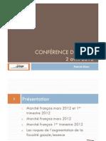 Conférence de presse 2 avril 2012
