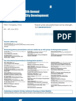 6th Annual City Development Conf