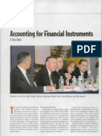 Accounting for Financial Instruments