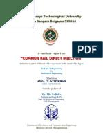 CRDI engine technology ppt | Fuel Injection | Diesel Engine