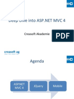 Deep Dive into ASP.NET MVC 4