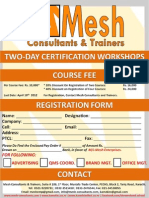 Registration Form - WESCD-MESH May 2012 Workshops