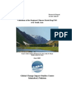 Validation Climate Model RegCM3 Over South Asia(GCISC-RR-07)
