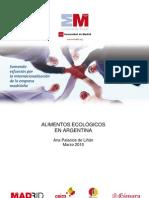 Estudio sobre los alimentos ecológicos en Argentina