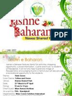 Jashan e Baharan PHA, 2012