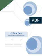 eCollege - College Management System -Upload