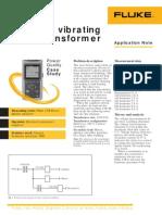 Fluke Power Quality Analyzers - The Vibrating Transformer Power Quality Case Study Using the Fluke 43b Application Note