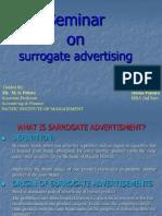 Surrogate Advertising Ppt