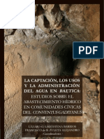 CAPÍTULO 5. GADES Y SU ACUEDUCTO UNA REVISIÓN