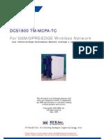 Spec MCPA for DCS 1800mhz