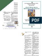 2012 - 7 Apr - MATINS SERVICE -  Lazaros Saturday