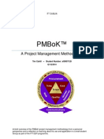 PMBoK Report by Tim Cahill 131211