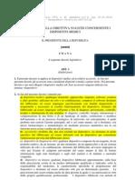 Attuazione Della Direttiva 93-42.CEE Emendata 2010 Evidenziata