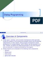 SAP Dialog Programming