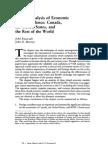 A VAR Analysis of Economic Interdependence
