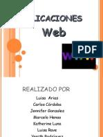 Presentacion Aplicaciones Web