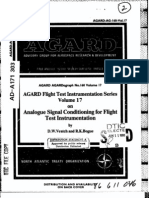 Analjgue Signal Conditioning for Flight Test Instrumentation