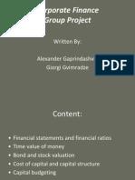 MBA. Gaprindashvili-Gvimradze Project.cf