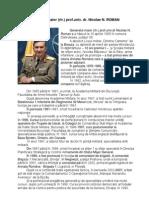 CV General Maior (rtr) prof.univ. dr. NICOLAE N. ROMAN-RO