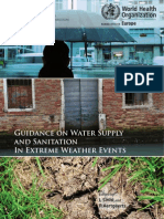 Guidance on Water Supply and Sanitation Extreme Weather Events