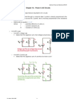 Chapter 1b - Power in AC Circuits