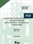 NBR 5422 CIGRÉ Brochura 273 Safe design tensions
