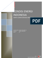 Keadaan Energi Indonesia