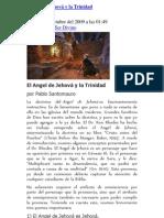 El Angel de Jehová y la Trinidad
