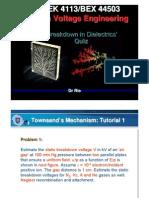 Breakdown in Insulations 2011 Update - Quiz