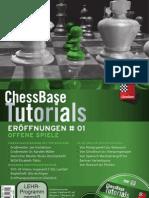 ChessBase Tutorials Band 1