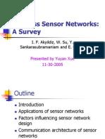 Wireless Sensor Network-A Survey