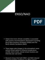 ENSO-NAO