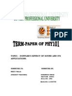 Phy Term Paper