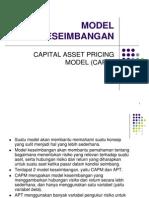 CAPM in Indonesia
