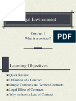 Contract 1 - What is a Contract