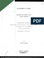 Communication Conduct in an Island Community - Tese de Doutorado de Goffman