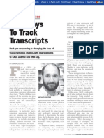 New Ways to Track Transcripts - Genome Technology 11-2008
