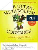 The UltraMetabolism Cookbook by Mark Hyman, M.D.