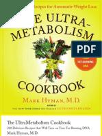 The UltraMetabolism Cookbook by Mark Hyman, M.D.