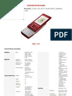 Catalogo de Celulares Enero 2012
