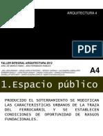 2012 PRESENTACION  espacio público